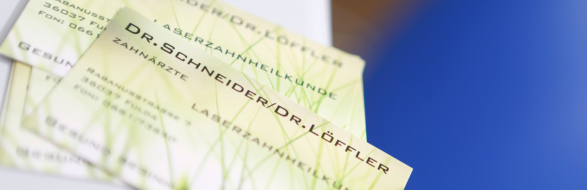Zahnärzte Fulda - Schneider & Löffler - Slider Impressum