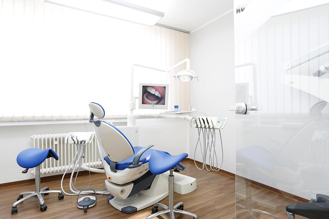 Zahnärzte Fulda - Schneider & Löffler - eines unserer Behandlungszimmer