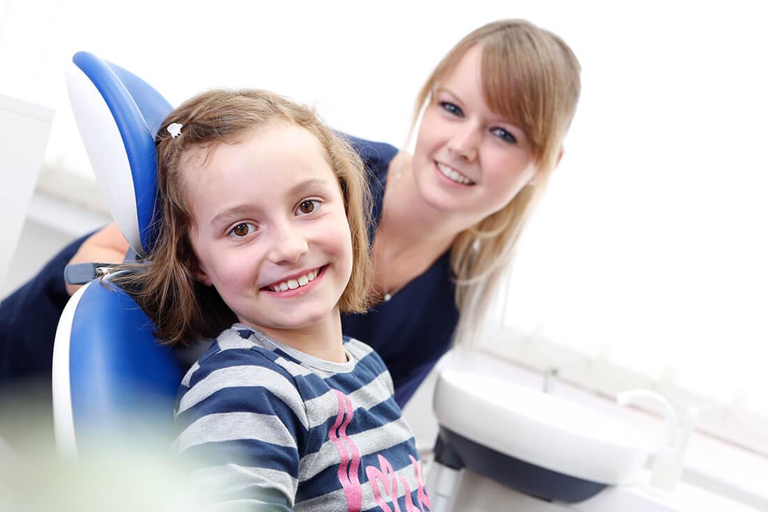 Zahnärzte Fulda - Schneider & Löffler - Kinder fühlen sich in unserer Praxis wohl